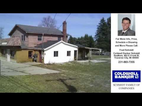906 BRIDGE ST, Bellaire, MI Presented by Fred Schmidt.