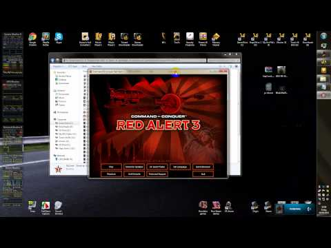 How To Install Command and Conquer Red Alert 3 MODS for all windows user's