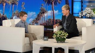Download Ellen Meets Kid Geography Expert Landon Gregory Video