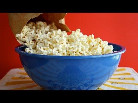 Paper Bag Microwave Popcorn