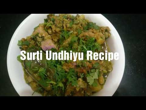 Surti Undhiyu Recipe  How to make Undhiyu  Easy Undhiyu recipe  Famous gujarati undhiyu