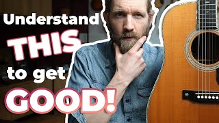 How to get GOOD at ACOUSTIC GUITAR (my philosophy)