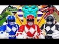 Dinosaurs Are Attacking Tayo Town Go Power Rangers ToyMartTV