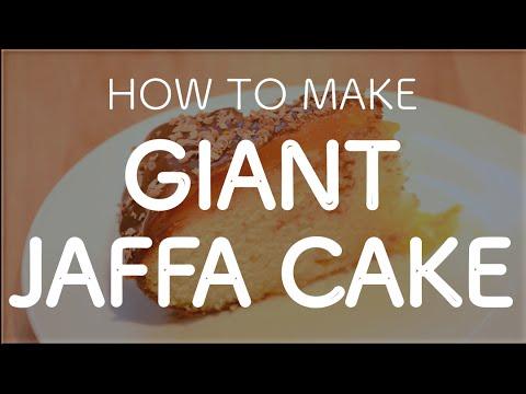 How to Make A Giant Jaffa Cake
