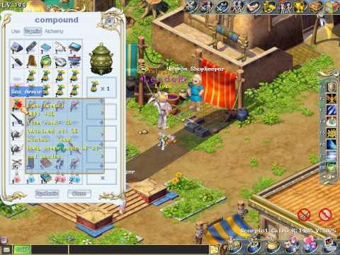 Wonderland Online Flaming Blade