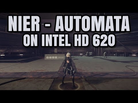 Nier Automata ON Intel HD 620 Graphics Core i5 7200U