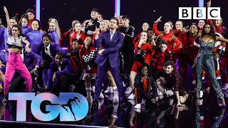 Dance captains and squads open the show to Giant - The Greatest Dancer | LIVE