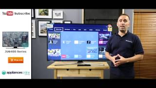 Samsung UA50JU6400 4K Ultra HD Smart LED LCD TV reviewed by product expert - Appliances Online