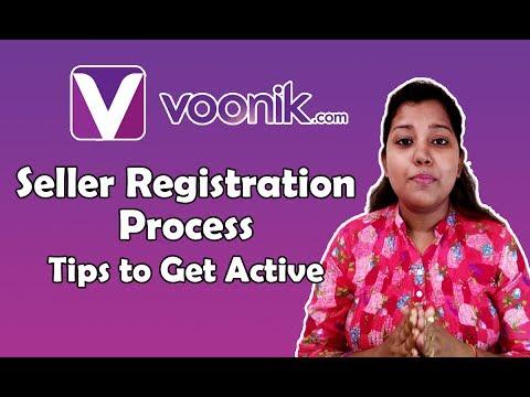 Voonik Seller Registration | Guide to Register as Seller account in Hindi