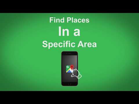 Google Maps   Find Places In A Specific Area