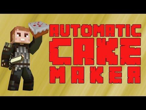 Automatic Cake Maker | No Mods | Minecraft | Magic Trick