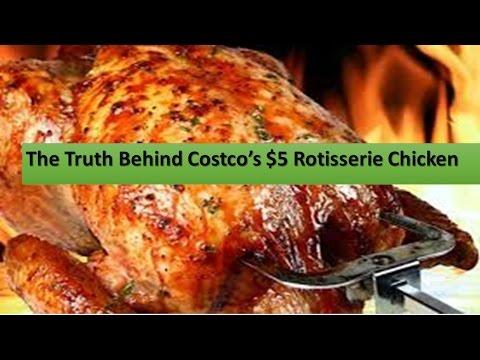 The Truth Behind Costco's $5 Rotisserie Chicken || Hidden Ingredients In Rotisserie Chicken