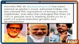 Has PM Modi Outvoted Amitabh, Salman, Shah Rukh as Globe's Most Admired Indian ?