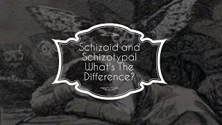 Schizoid and schizotypal personality disorders are in fact completely unrelated. They are both