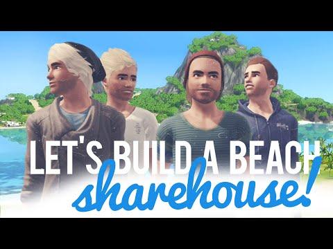 The Sims 3 Let's Build a Share Beach House — Part 1
