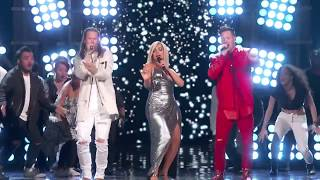 [HD] Bebe Rexha & Florida Georgia Line - Meant To Be Live At 53rd ACM Awards