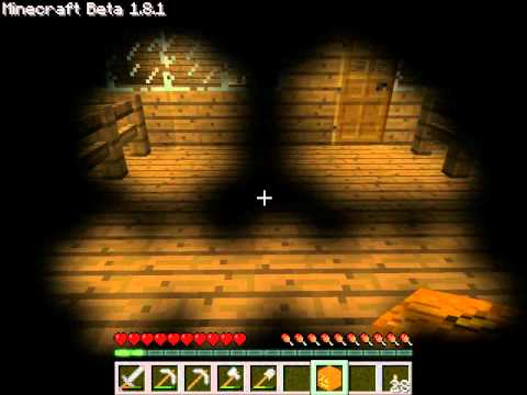 Minecraft Guide:How to make a Jack o Lantern