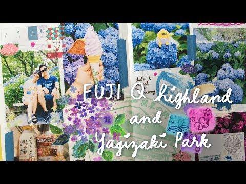 Hobonichi With Me | FUJI Q Highland + Ajisai Garden (Yagizaki Park, Kawaguchiko) 🗻