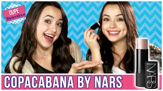 Drugstore Dupe For Nars Highlighter?! | Dupe Detectives w/ the Merrell Twins