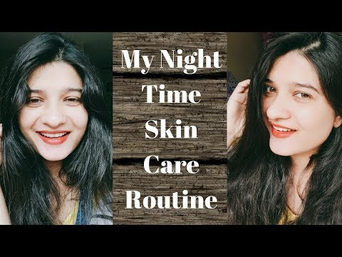 My night time skin care routine in Hindi | Skin care tips | Nightime skin care | AVNI
