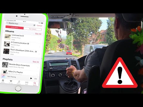 iPhone disable notifications while driving - iPhone driving mode