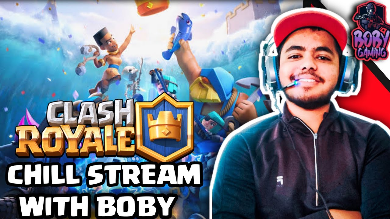 CLASH ROYALE  : 5th ANNIVERSARY ll MUST WATCH ll WITH FACE CAM ll road to 5k subs