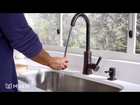 Bridgestone One-Handle High Arc Pulldown Kitchen Faucet