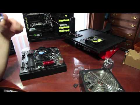 How to install CPU and Test Motherboard