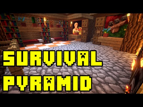 Minecraft: Survival Pyramid House Tutorial Xbox/PE/PC/PS3/PS4