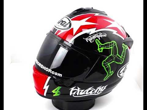 Arai Chaser-X Hutchy Replica Helmet