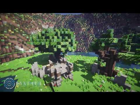 Minecraft Build #1 - Spawn Area