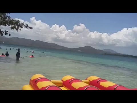 A Trip To An ISLAND ( Cowrie island palawan) 🌊🌊