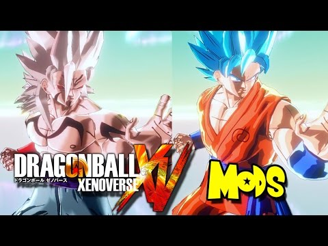 Demon God Goku vs SSGSS Goku (Mod)!   [PC] Dragon Ball Xenoverse MODS