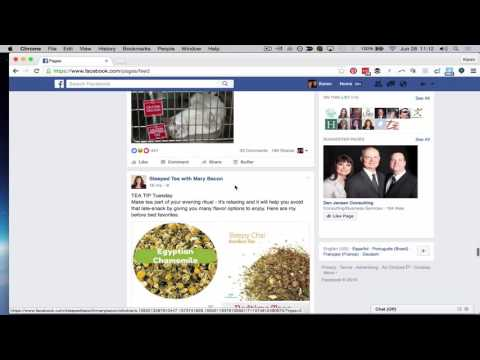 How to Like and Comment on Business Pages as YOUR Business