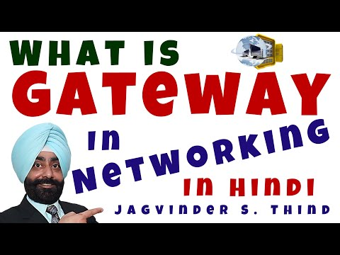 Router as Default Gateway in Hindi - Networking Devices Part 9