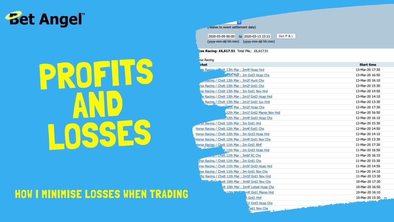 Betfair trading   How I successfully minimise my losses   Peter Webb   Bet Angel