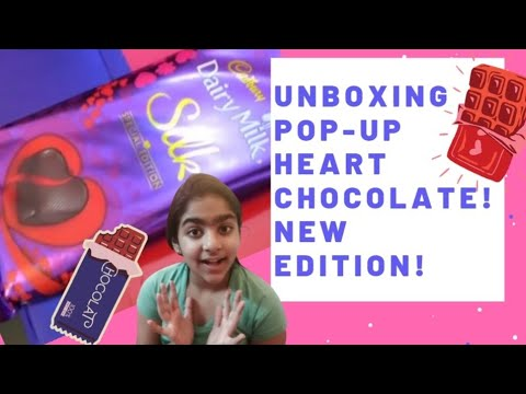 Valentine Special  | Dairy Milk Silk Pop Up Heart Chocolate | Unboxing | Review