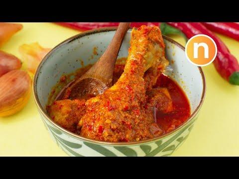 Chicken Rendang   Rendang Ayam [Nyonya Cooking]