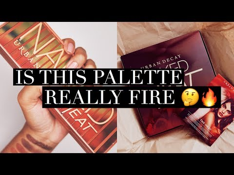 IS THE NEW NAKED HEAT PALETTE REALLY FIRE? | FIRST LOOK