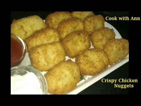 Chicken Nuggets Recipe | How To Make Crispy Chicken Nuggets | Homemade Chicken Nuggets