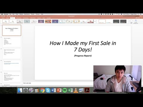 How I Made my First Sale on Shopify Dropshipping in 7 Days!