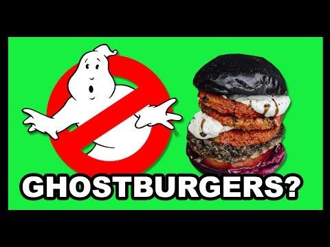 Ghostbusters + Burgers = GHOSTBURGERS! - Food Feeder