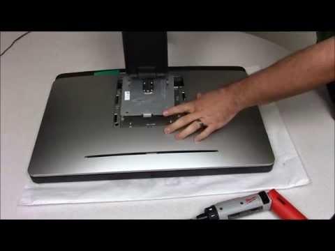 Dell Optiplex 9020 AIO | Remove the Hard Drive