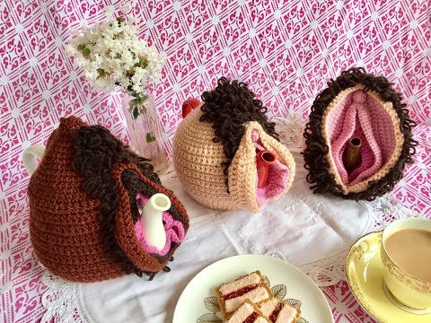 How to Crochet a Vulva Tea Cosie