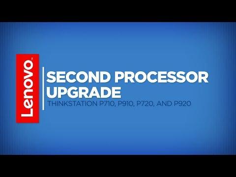 ThinkStation Second Processor Upgrade