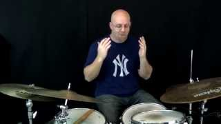 Jazz Drum Lesson Of The Month Tains Backwards Swing