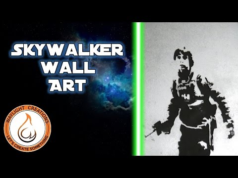 Skywalker Wall Art - Scroll Saw Project
