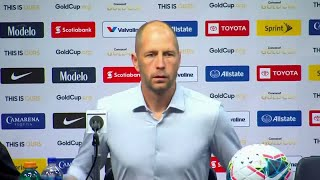 Press Conference: Gregg Berhalter - Jamaica (1) - (3) United States - Gold Cup 2019
