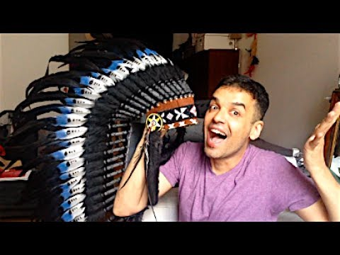 UNBOXING AMERICAN  INDIAN HEAD PIECE