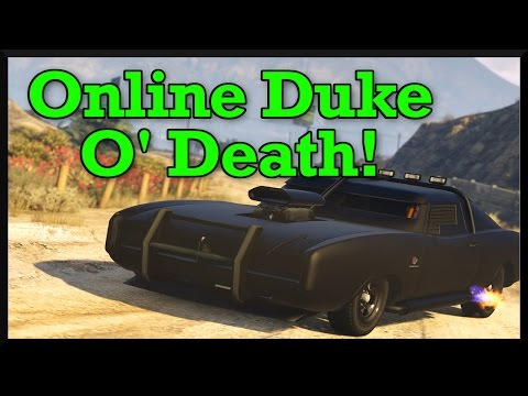 GTA 5: Duke of Death Event Week (Double Money Missions, Free Vehicles, & More!)
